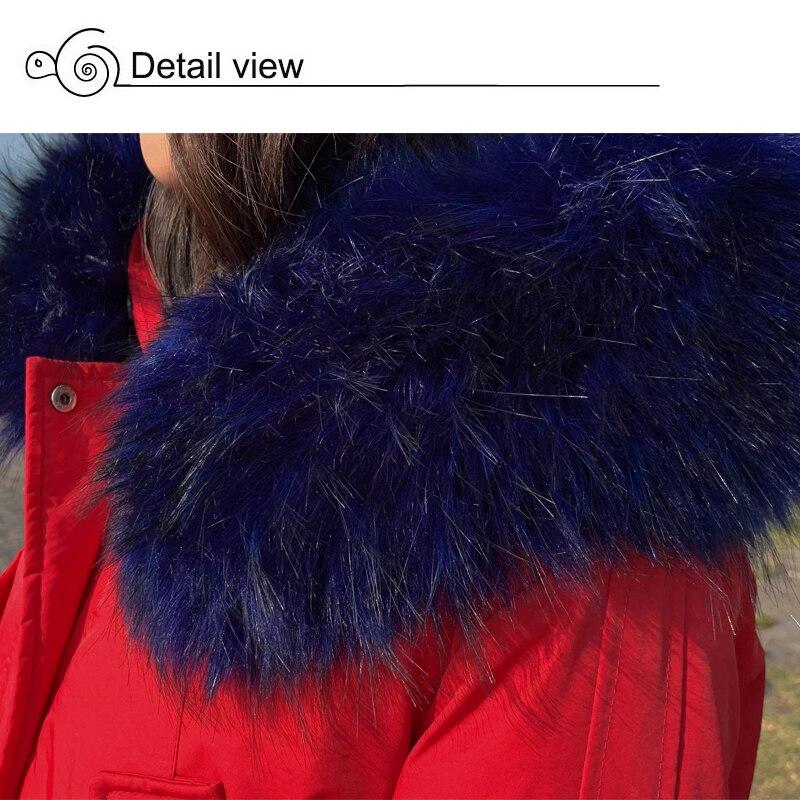 New Arrival 2019 Winter Jacket Women Cotton Padded Outwear Female Coat_B8_19