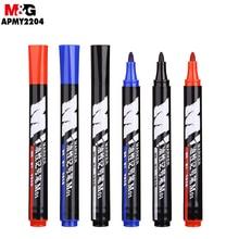 M&G M01 Mark Pen. 10pcs/boxes. Single Head, Waterproof, Easy To Dry, Oily, Marker Pen.APMY2204