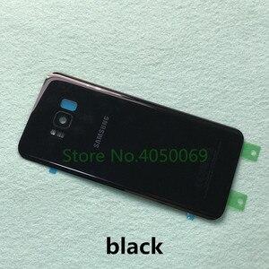 Image 2 - Samsung Lưng Pin Dành Cho Samsung Galaxy Samsung Galaxy S8 G950 SM G950F S8 Plus S8 + G955 SM G955F Lưng Kính Cường Lực Mặt Sau Ốp Lưng + Dụng Cụ