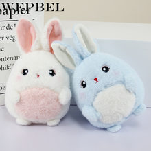 WEPBEL Cartoon Bunny PP Cotton Stuffed Plush Toy Baby Girl Boy Cute Dinasour Mouse Soft Toys(China)