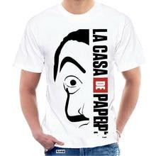 T camisa La Casa De Papel dinero robo profesor Tokio Tv mostrar Tee Unisex S - 3Xl hombres camiseta, ropa 6028W