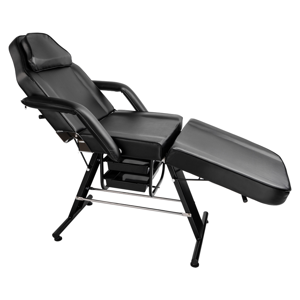 Folding Beauty Massage Bed Adjustable Beauty Salon Therapy Tattoo Equipment Bed Facial Massage Furniture Table