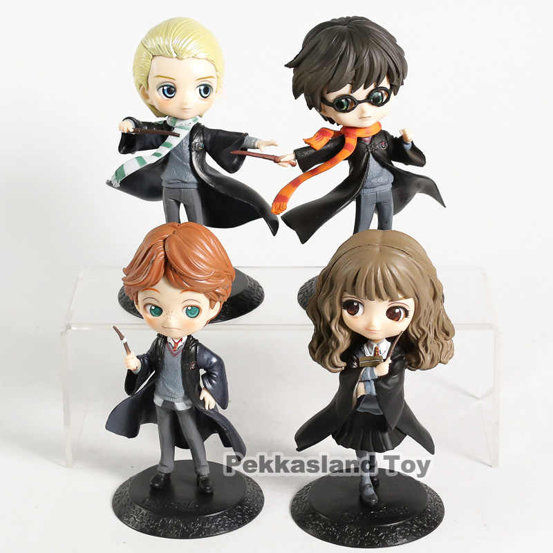 Q posket snape hermione 론 malfoy pvc 그림 collectible model toy