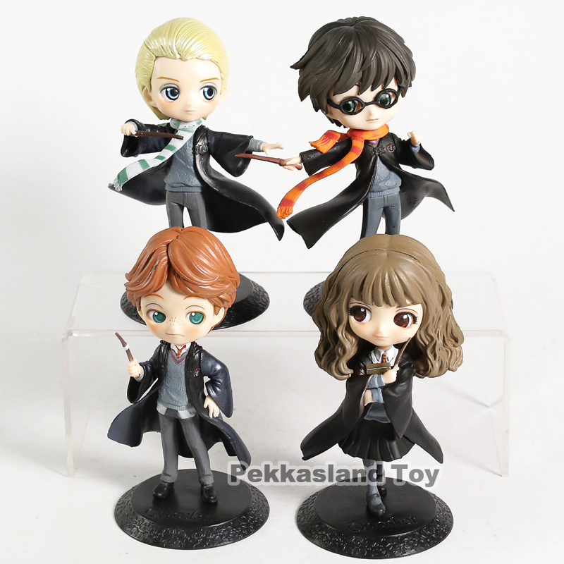 Q Posket Snape Hermione Ron Malfoy PVC Figure Collectible Model Toy