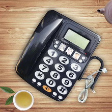 Big Button Corded telefonos fijos de casa with Speaker Phone Speed Dial Phone Incoming Caller ID Home Office Telephone Landline