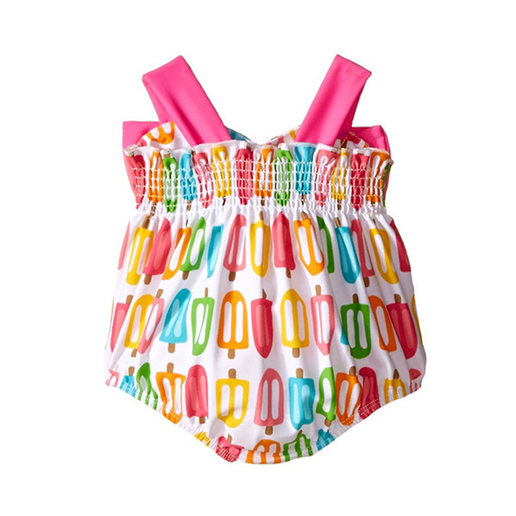 Infants Bathing Suit 1-3 Years Old Baby Girls INS KID'S Swimwear GIRL'S Swimsuit Small CHILDREN'S Dacron Bathing Suit 0-1-Year-O