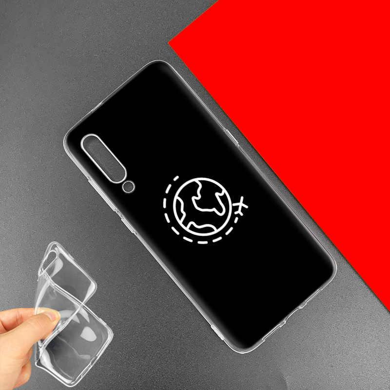 Muzyka podróży OMG sztuki obudowa do Xiaomi czerwony mi uwaga 8 7 K20 CC9 7S S2 6 6A 7A Pro mi CC9 E 9T A3 A1 A2 Lite F1 pokrowiec na telefon TPU pokrowiec