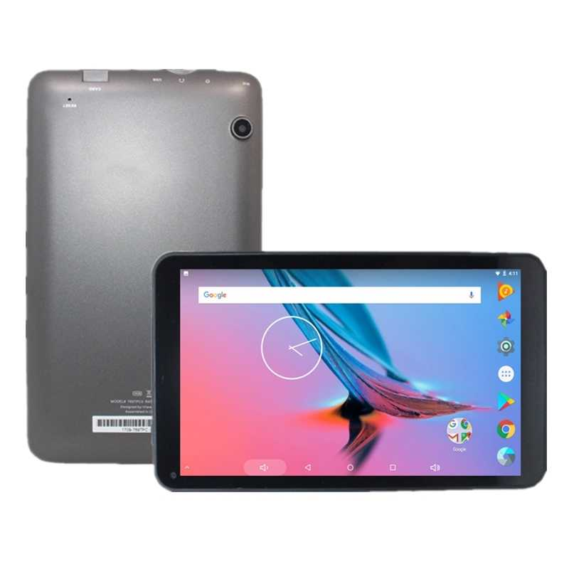 G11 7 polegada android 7.1 quad core 1 gb + 16 gb tablet pc câmera dupla ips allwinner a53 1024*600 pixels preto wifi bluetooth
