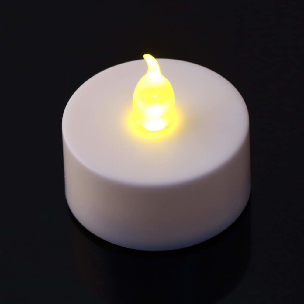 LED Light Candles Household Battery-Powered Flameless Candles Church Home Decoartion And Lighting Wedding Gathering Birthday Use