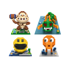 Small Particle Creative Building Blocks for Toy Pixels and Doll Sets toys  building blocks  minecraft  > 8 years old Pac Man