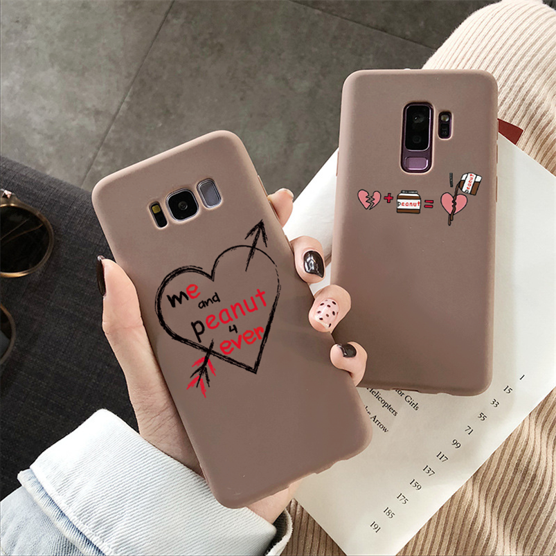 Cute Jam TPU Matte Case For <font><b>Samsung</b></font> Galaxy A5 J3 J5 J7 Prime <font><b>2016</b></font> 2017 J4 J6 J8 A6 Plus A8 <font><b>A9</b></font> A7 2018 Note 5 8 9 10 Cover Funda image