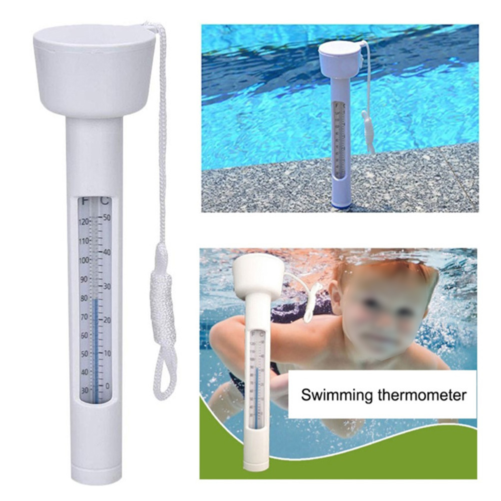 Indoor Outdoor Floating Hot Tub Fish Pond Water Thermometer Swimming Pool Waterproof Spa Digital Display Aquarium Multifunction