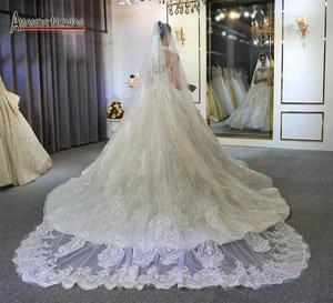 Image 5 - robes de mariée wedding dress princess custom made wedding dress real work 100% high quality