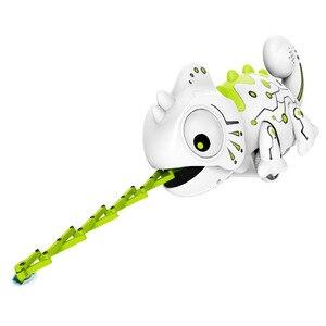 Image 4 - Lézard télécommandé caméléon, Robot Intelligent pour enfants, jouet cadeau danniversaire pour enfants, jeu amusant, télécommande, animaux reptiles, 2.4G