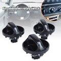 Набор из 3 автомобильных переключателей кондиционера управления обогревателем Сменные ручки для автомобиля Аксессуары для автозапчастей ...