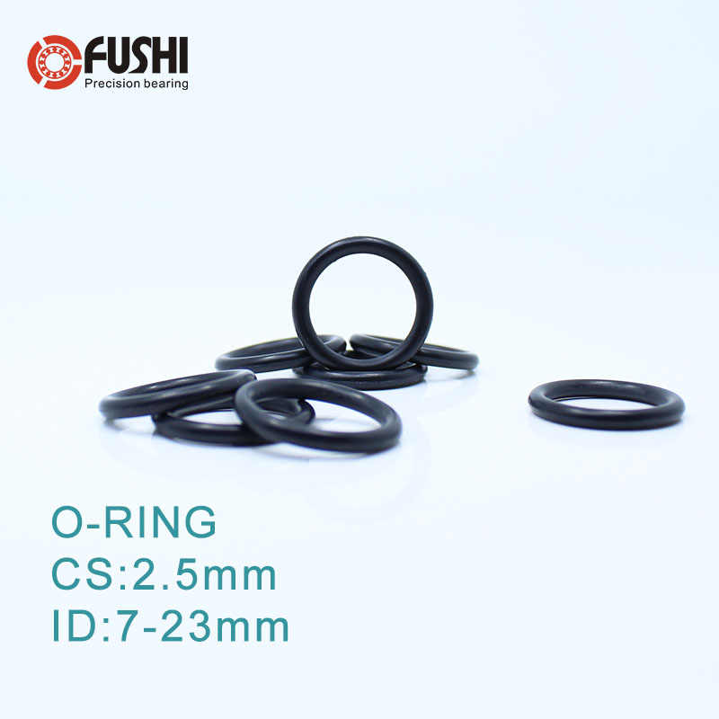 CS2.5mm ЭПДМ уплотнительное кольцо ID 7/7. 5/8/9/10/11/12/13/14/15*2 5 мм 100 шт. уплотнения выхлопной