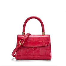 gete crocodile Female package 2019 The new handbag goes with everything Ladys leather light luxury crossbody bag