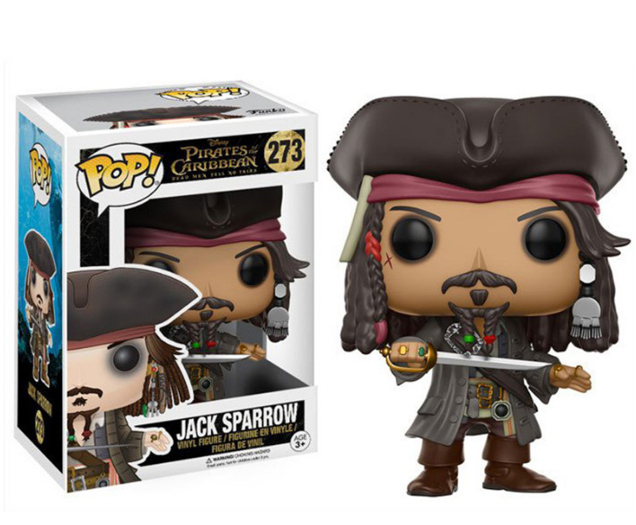 Pirates Of The Caribbean 5 POP273 # Captain Jack John POP275 # Will Turner Capsule Toy