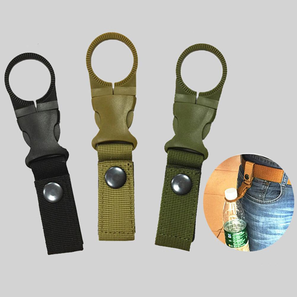 PinShang Outdoor Travel Multifunctional Water Bottle Ring Buckle Strap Sport Bag Waist Belt Accessory