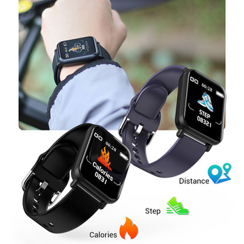 COLMI Smartwatch IP68 Waterproof Heart Rate Blood Pressure Monitor Men Women Fitness Tracker for Apple IPhone Xiaomi