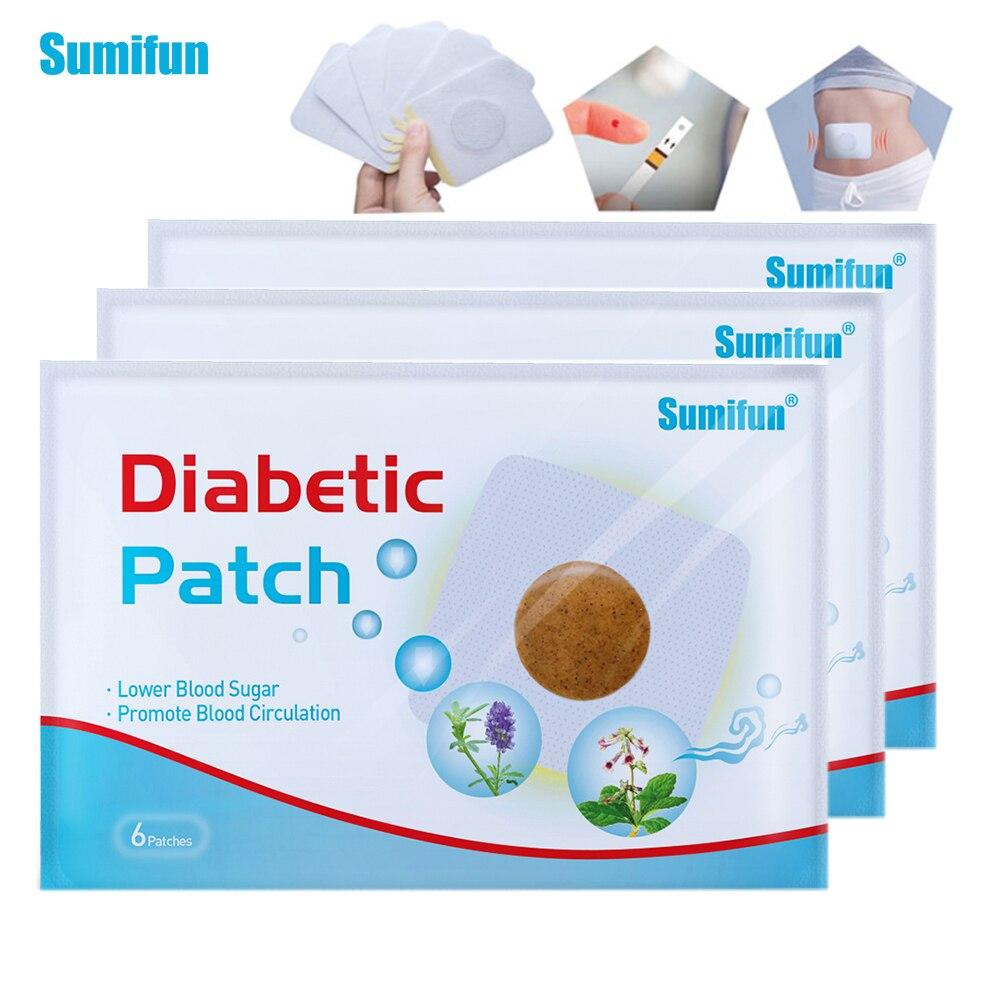 Sumifun 18 шт. пластырь для диабета снижает уровень сахара в крови штукатурка баланс глюкозы китайские натуральные травяные препараты Здравоох...