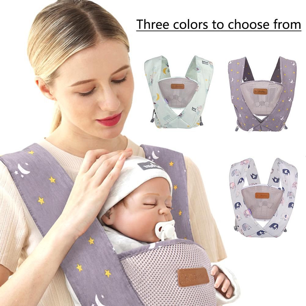 3-36 Months Breathable Front Facing Baby Carrier Comfortable Sling Backpack Pouch Wrap Baby Kangaroo Adjustable Safety Carrier