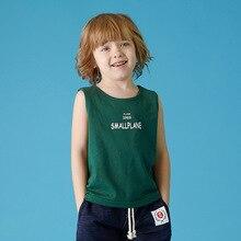 Г., летний хлопковый детский жилет корейский модный детский спортивный тонкий впитывающий пот жилет нижняя рубашка жилеты для девочек с принтом