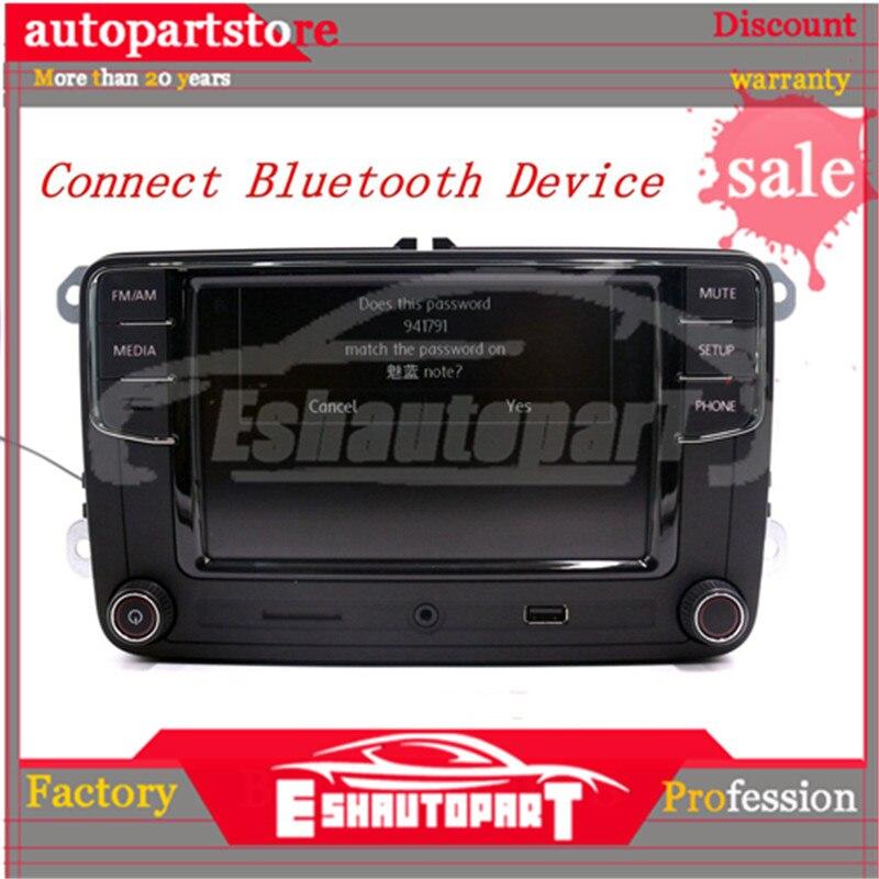 Android Auto Carplay miroir lien RCD330 R340G Plus Noname Radio rouge rétro lumière 187B pour PQ35 plate-forme siège Leon Toledo Altea - 3