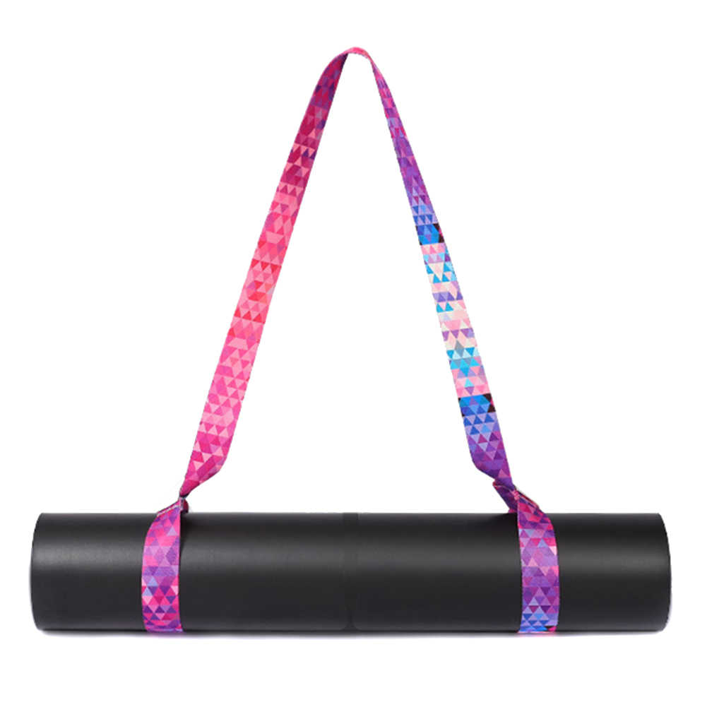 Hot Yoga Mat Carry Strap Adjustable Shoulder Strap for Yoga Mat Sling Pilates Exercise Fitness MVI-ing