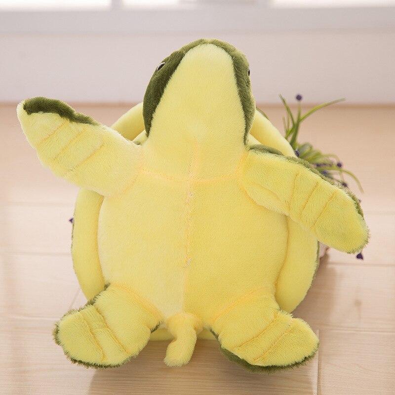Peluche jouet poupée tortue grande poupée cadeau d'anniversaire peut être mélangé lot