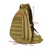 Outdoor multi-functional male chest bag Nylon Military Backpack nylon leisure joker Large capacity Camouflage Bags Male classic