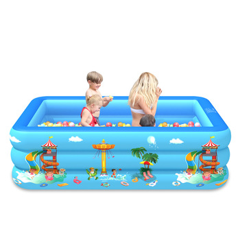 Inflatable Swimming Pool Piscina Indoor and Outdoor Thick Safe Baby Pool Water Party Supply For Kids Adult PVC Paddling Pool Toy
