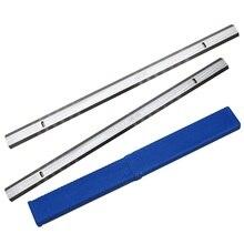 HSS planya bıçakları kalınlığı planya bıçağı için 319x18.2x3.2mm Ryobi ETP1531AK JET JWP 12 GMC MA1931 CT 340 COBRA
