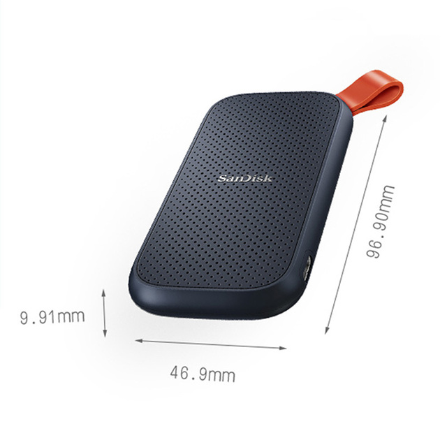 SanDisk SSD USB 3.1 USB-C  1TB 2TB 250GB 500GB External Solid State Disk 500M/S external hard drive for Laptop camera or server 4