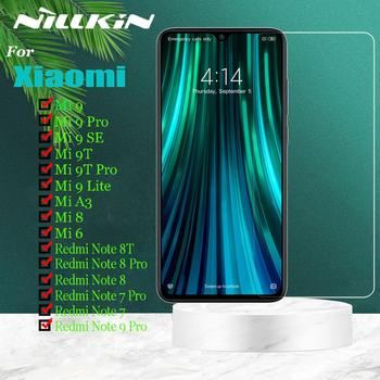 Nillkin for Xiaomi Mi 9 SE Mi9 Lite 9T Pro A3 8 6 Glass Screen Protector 9H Safety Tempered Glass on Redmi Note 9 8T 8 7 Pro 9s
