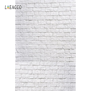 Image 4 - Laeacco Photophone For Food White Brick Wall Vintage Baby Portrait Photography Backdrops Photo Backgrounds Birthday Photocall
