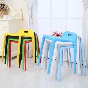 Image 2 - Bắc Âu INS Sáng Tạo Nhựa Phân Ghế Ăn dành cho Phòng Ăn Nhà Hàng Nội Thất Phòng Khách Nhà Bếp Phòng Ngủ Ăn Phân