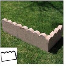 Antique Garden Brick Cement Mold Garden Fence Cemen