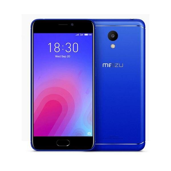 Смартфон Meizu M6, 5,2 дюйма, 8 ядер, 32 ГБ, 3 ГБ ОЗУ, синий