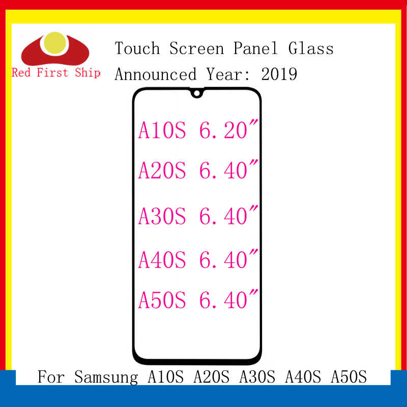 لسامسونج غالاكسي A10S A20S A30S A40S A50S A70S لوحة اللمس الجبهة الخارجي عدسة A107 A207 A507 A307 LCD استبدال الزجاج