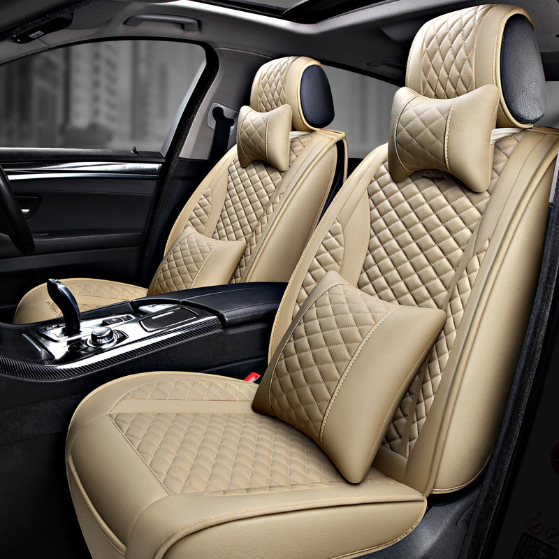 Nuevas fundas universales para asientos de coche compatibles con Citroen C3 XR C4 C5 C6 ds5LS DS6 DS 4S de cuero PU de lujo Auto cojín impermeable para asiento - 2