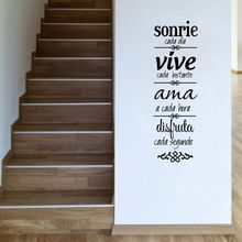 Spanish house rules Wall Sticker Home Decoration  , Version NORMAS DE CASA Vinilos Decorativos