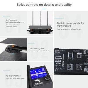 Image 5 - Creality Ender 5/Ender 5 Pro  3D Printer DIY Kit 220*220*300mm Build Volume with Upgrade Silent Motherboard PTFE Tubing Extruder