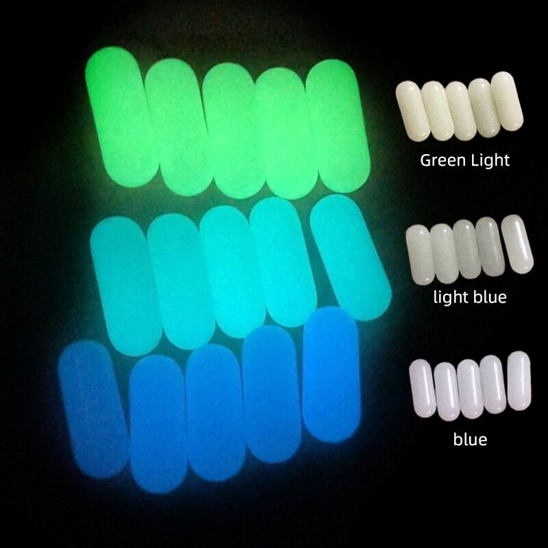 Glow in the dark Luminous pill Terp Pearls For Terp Slurper Quartz Banger Nails Glass Bongs 1