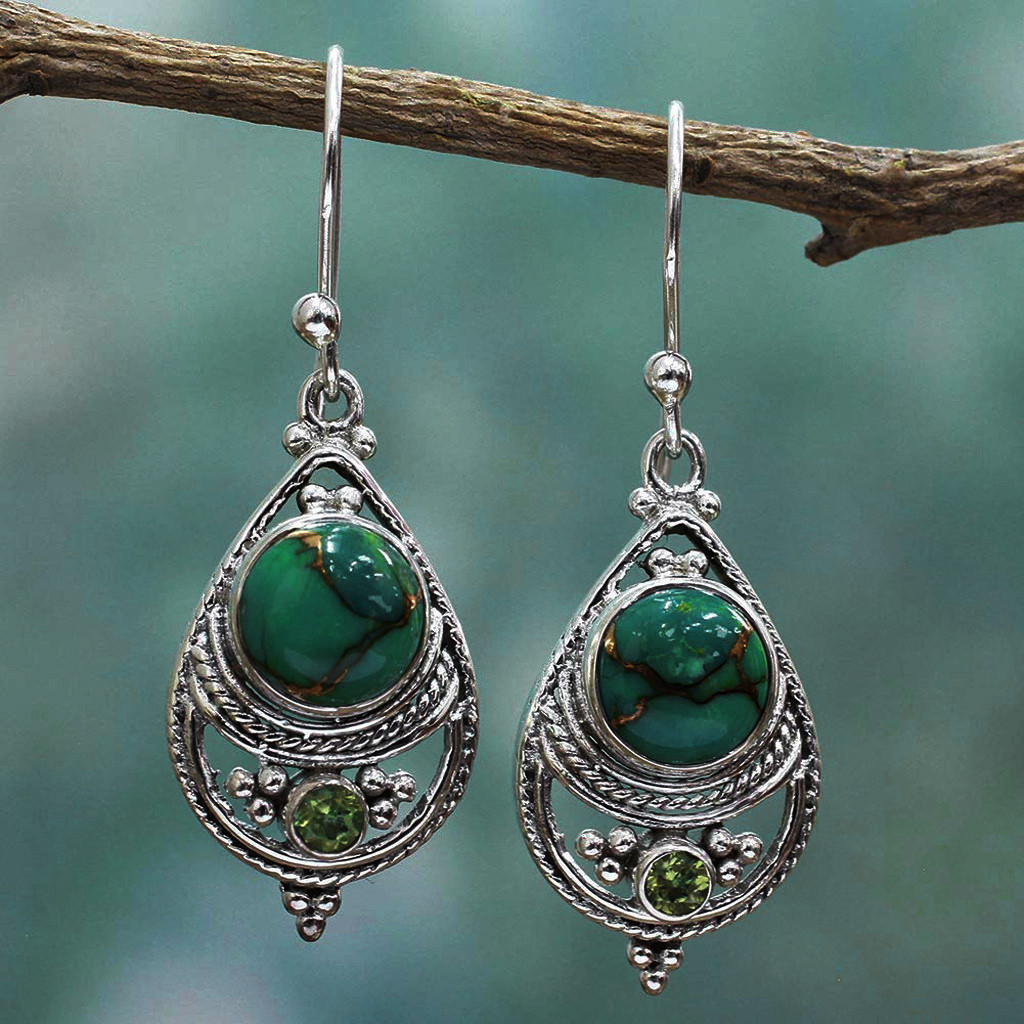 Women Hand Made Ethnic Earrings Vintage Bohemian African Indian Earrings For Women Drop Statement Earrings For Women brinco