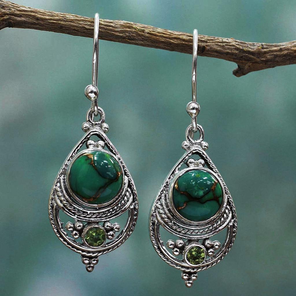 Women Hand Made Ethnic Earrings Vintage Bohemian African Indian Earrings For Women Drop Statement Earrings For Women brinco