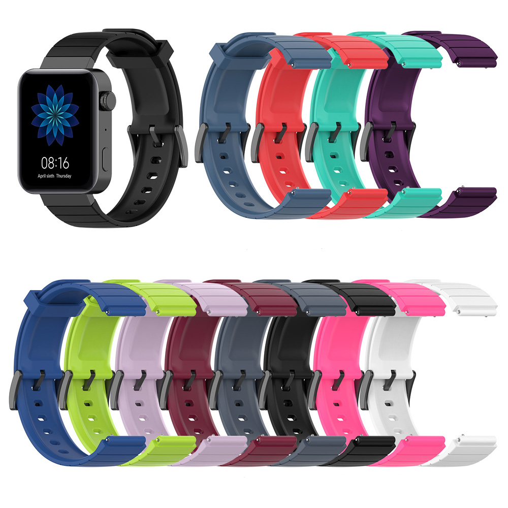 For Xiaom Mi Watch 18mm Watch Band for Huawei B5/S1 Sport Watch Band For Withings/LG Watch Style 18mm Smartwatch Official Strap