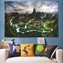 цены на Large Size Psychedelic Tapestry Wall Hanging Mandala Tapestry Watercolor Painting Hippie Wall Tapestries Wall Cloth Art Boho Fabric Flat Bed Sheets  в интернет-магазинах