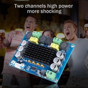 Image 2 - 2x120W TPA3116D2 ערוץ כפול סטריאו גבוהה כוח דיגיטלי מגבר אודיו לוח XH M543 אודיו Amp מודול TPA3116 DC12 ~ 26V