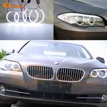 Excellent Ultra bright COB led angel eyes halo rings For BMW F10 F11 F18 520d 520i 523i 525d 528i 530d 530i 535d 535i M5 10 16